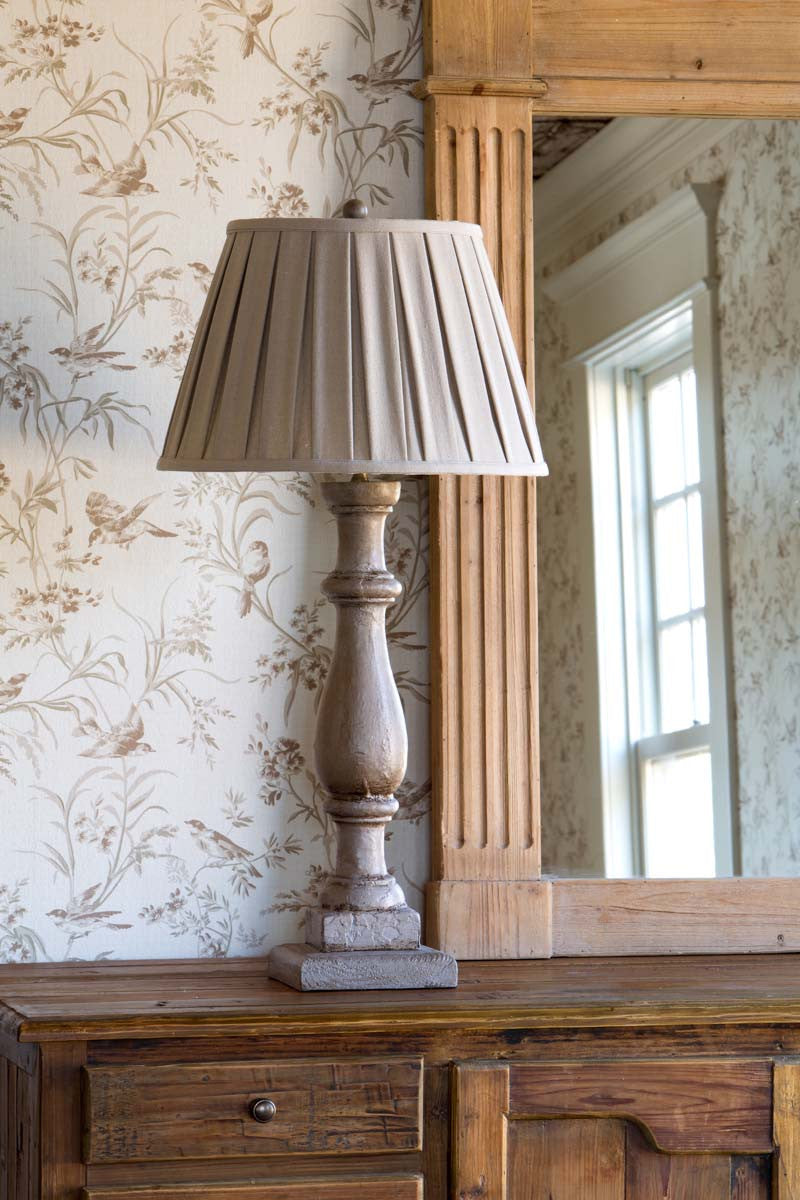 Lovecup French Country Painted Table Lamp L420