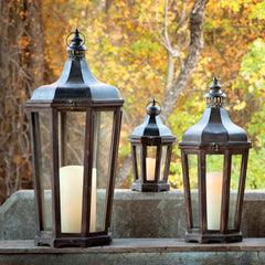Lovecup HillSide Lanterns, Set of 3 L134