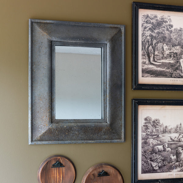 Lovecup Aged Salvaged Look Mirror L087