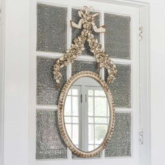 Lovecup Flower Oval Mirror L668