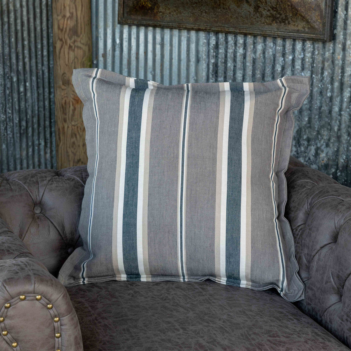 Lovecup Coal Striped Home Pillow, Set of 2 L702