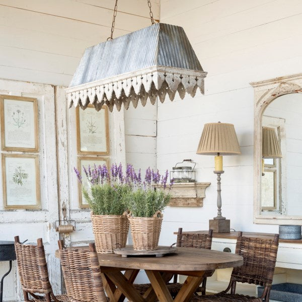 Lovecup Farmhouse Porch Chandelier L03W