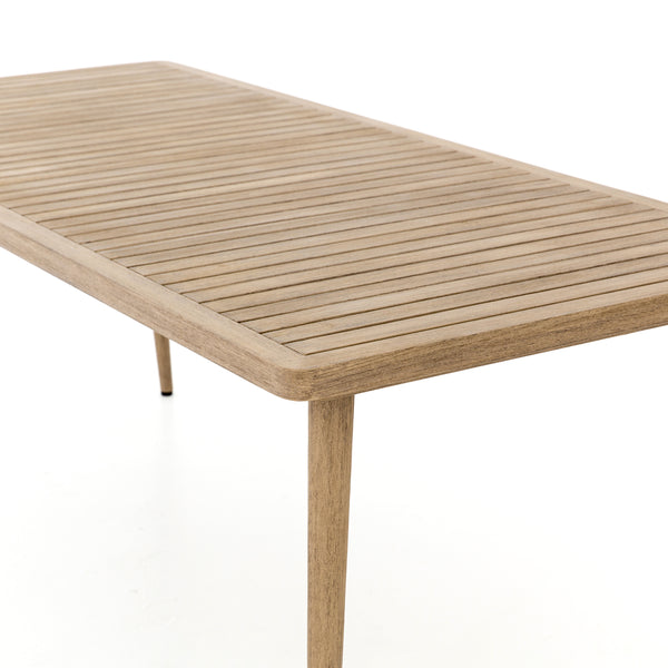 Lovecup Hermit Outdoor Dining Table Washed Brown L025