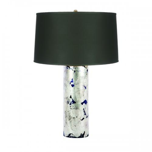 Aidan Gray Blue Silver Leaf Lamp L690 HOM - LOVECUP