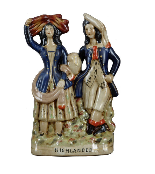 Staffordshire Highlanders Figures Reproduction