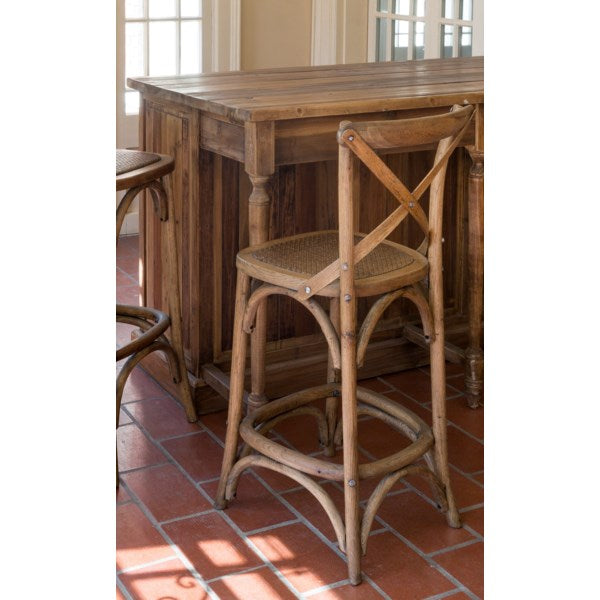 Lovecup Cross Back Counter Stool
