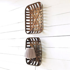 Lovecup Basket Lamp Wall Sconce Set L164