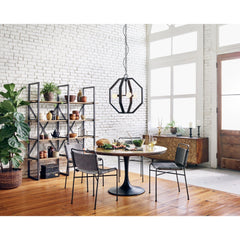 Lovecup Brass Top Dining Table - LOVECUP