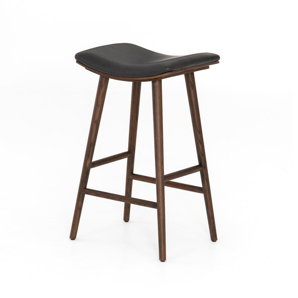 Lovecup Reunion Bar Stool in Distressed Black