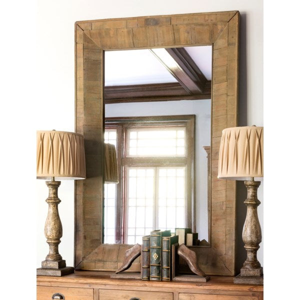 Lovecup Reclaimed Pieced Wood Mirror L614