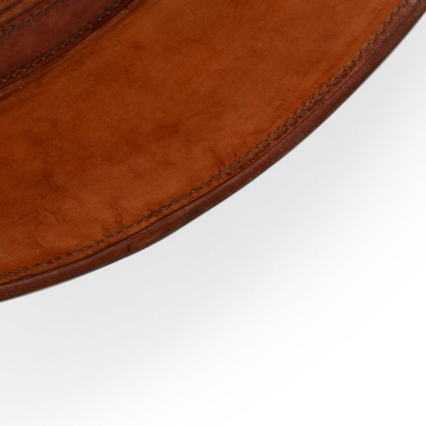 Lovecup Cognac Leather Mirror L802