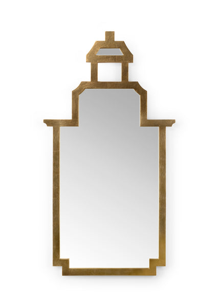 Chelsea House Pagoda Mirror - Gold 383678