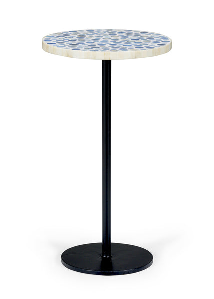 Chelsea House Blue Bubble Side Table 383359
