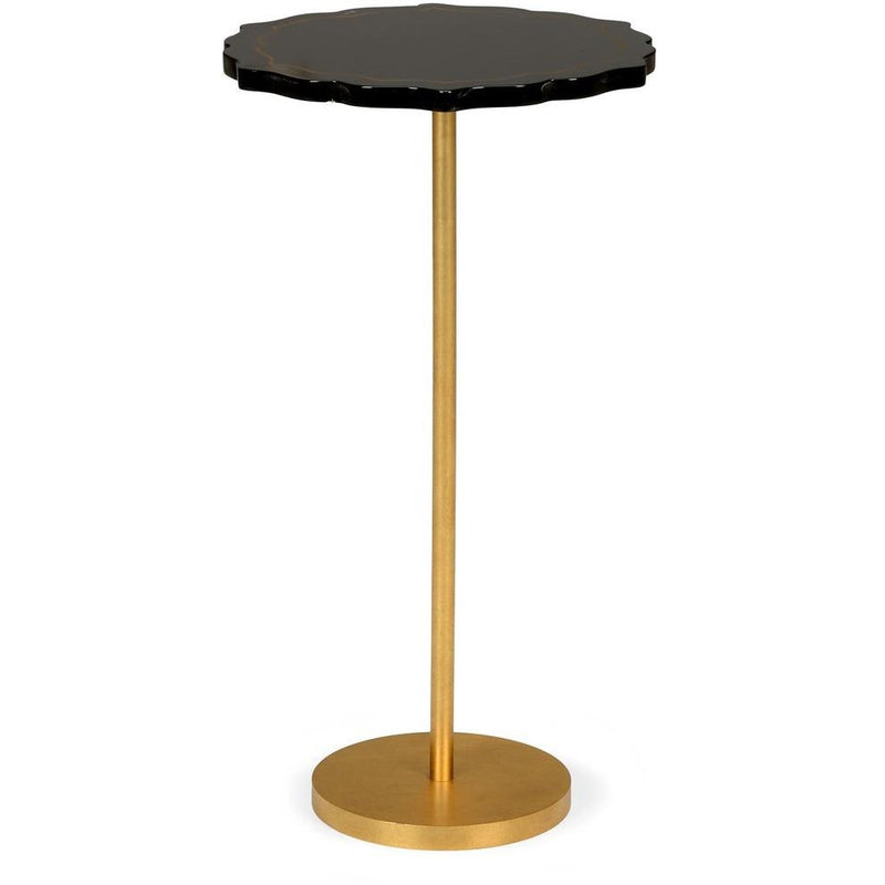Chelsea House  Black Side Table 382549 - LOVECUP