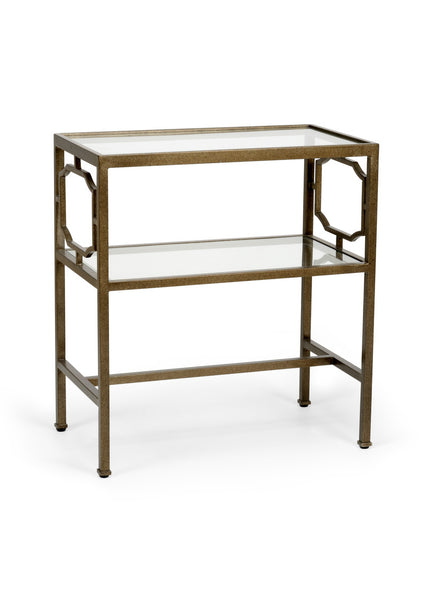 Chelsea House French Side Table - Bronze 383182