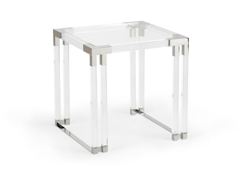 Wildwood Bowen Acrylic Side Table 490436