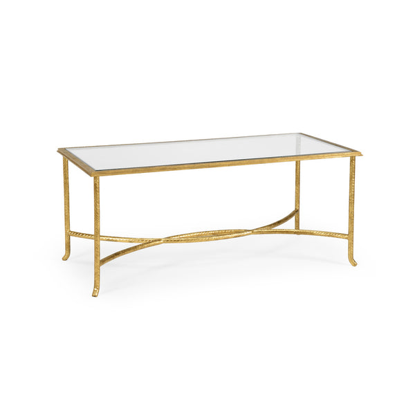 Chelsea House Watson Coffee Table Gold 381984