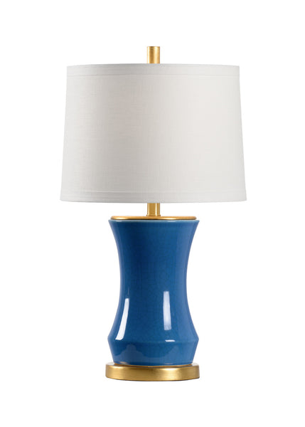 Chelsea House Bel Air Table Lamp - Blue 69472