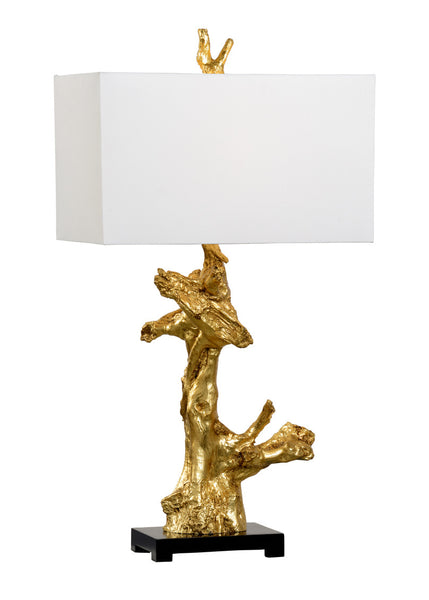 Claire Bell Branch Lamp - Gold 69238
