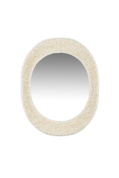 Chelsea House Shell Oval Mirror 384175