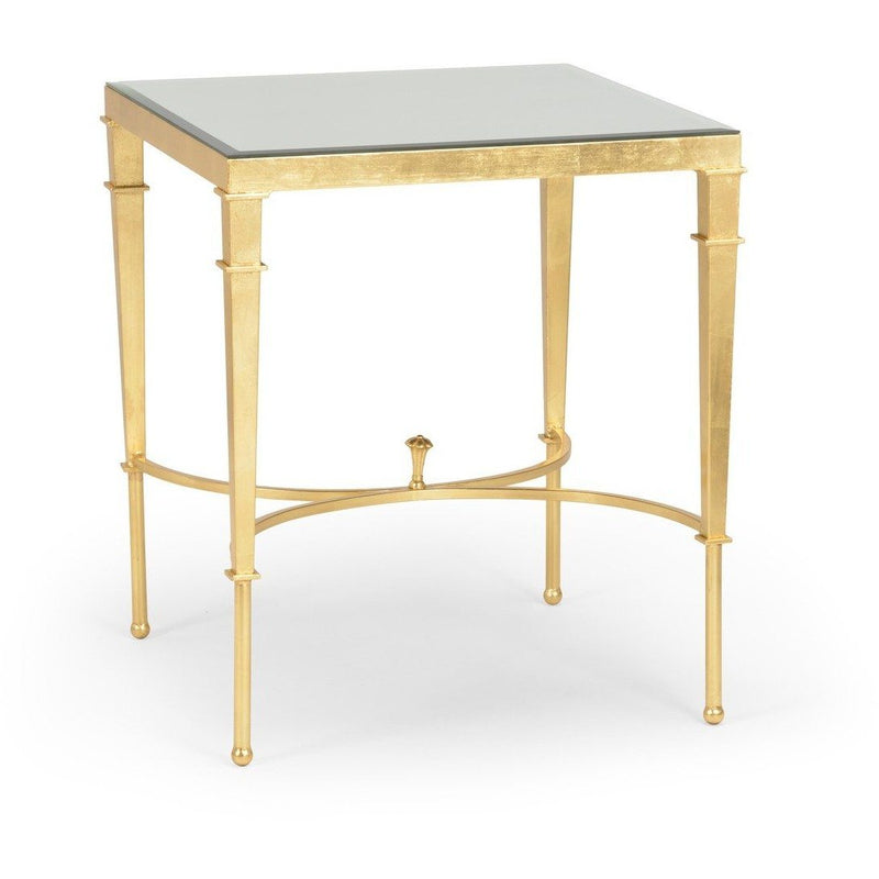 Chelsea House Regent Table-Gold 381866 - LOVECUP