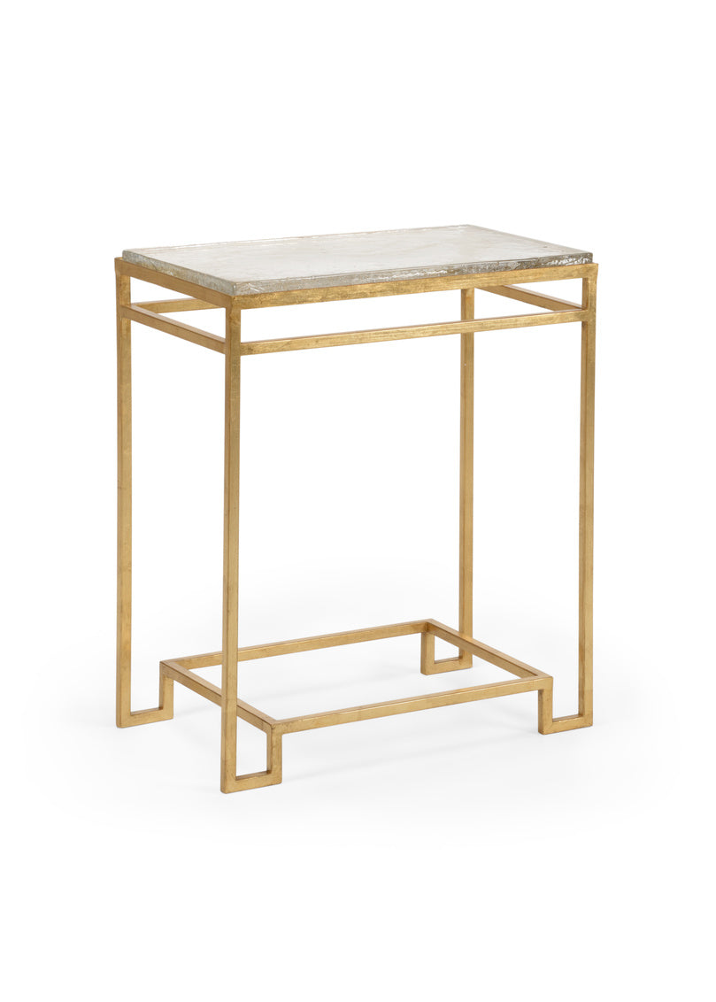 Picture of: Chelsea House Seed Glass Side Table Gold 384315 Lovecup