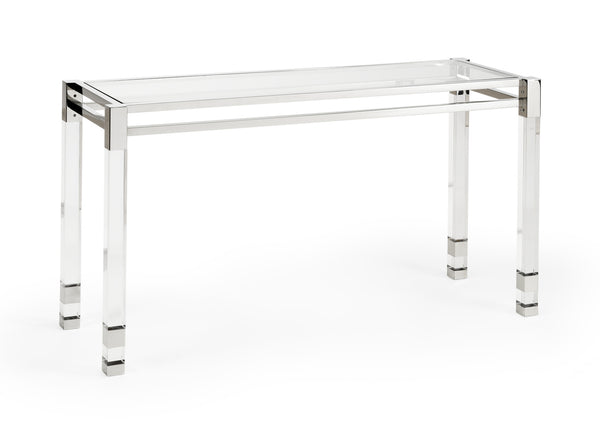 Chelsea House Vancouver Acrylic Console Table 384475