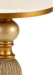 Chelsea House Tassel Side Table - Gold 382817