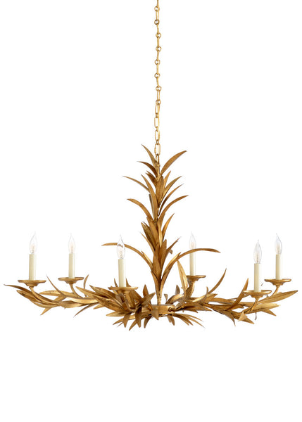 Chelsea House Laurel Sunburst Chandelier 69208