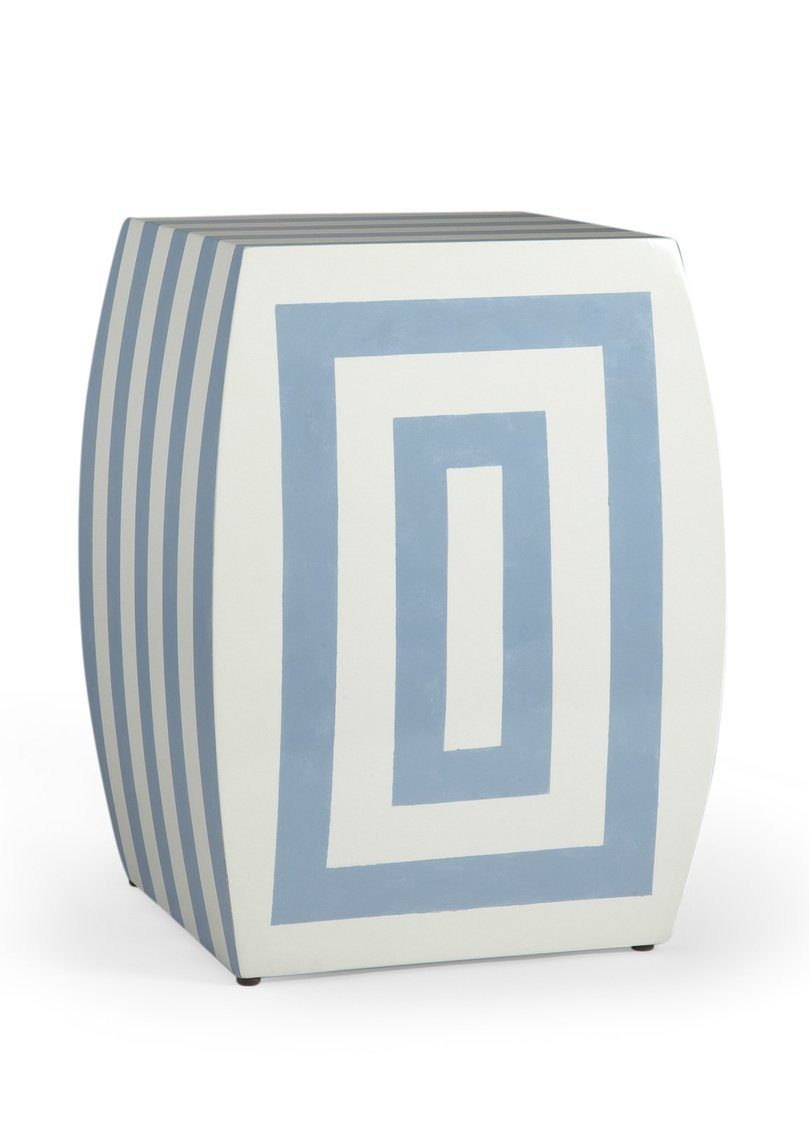 Chelsea House Mantis Stool-Bl/Crm 380019 - LOVECUP