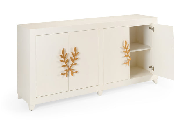 Chelsea House Longleaf Cabinet - White 384727