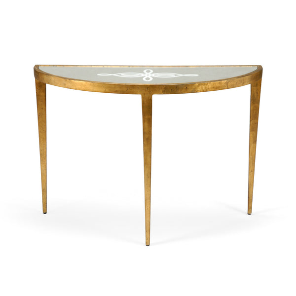 Chelsea House Celtic Knot Console - Gold 381700