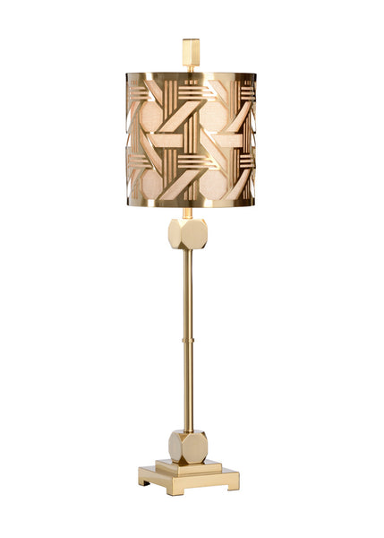 Wildwood Hutton Slim Table Lamp - Brass 22421