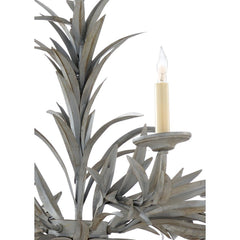 Chelsea House Laurel Chandelier - Gray 69279 - LOVECUP