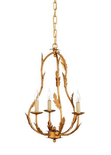 Chelsea House Petite Chandelier-Gold 69168