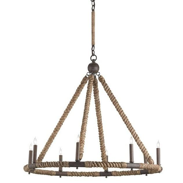 Currey and Company Bowline Chandelier 9536 - LOVECUP - 2