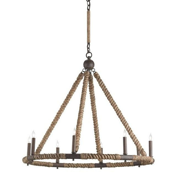 Currey and Company Bowline Chandelier 9536 - LOVECUP