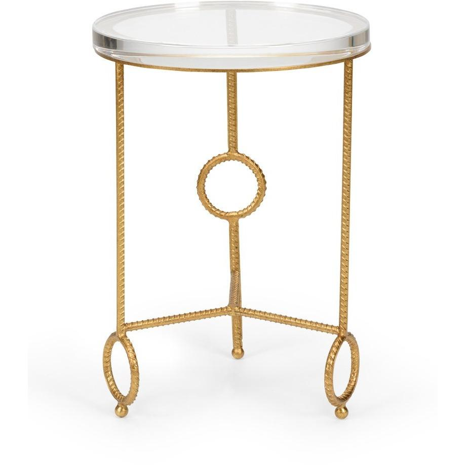 Chelsea House Yonkers Side Table - Acrylic 383178 - LOVECUP