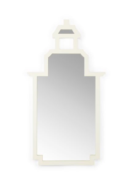 Chelsea House Pagoda Mirror - White 383680