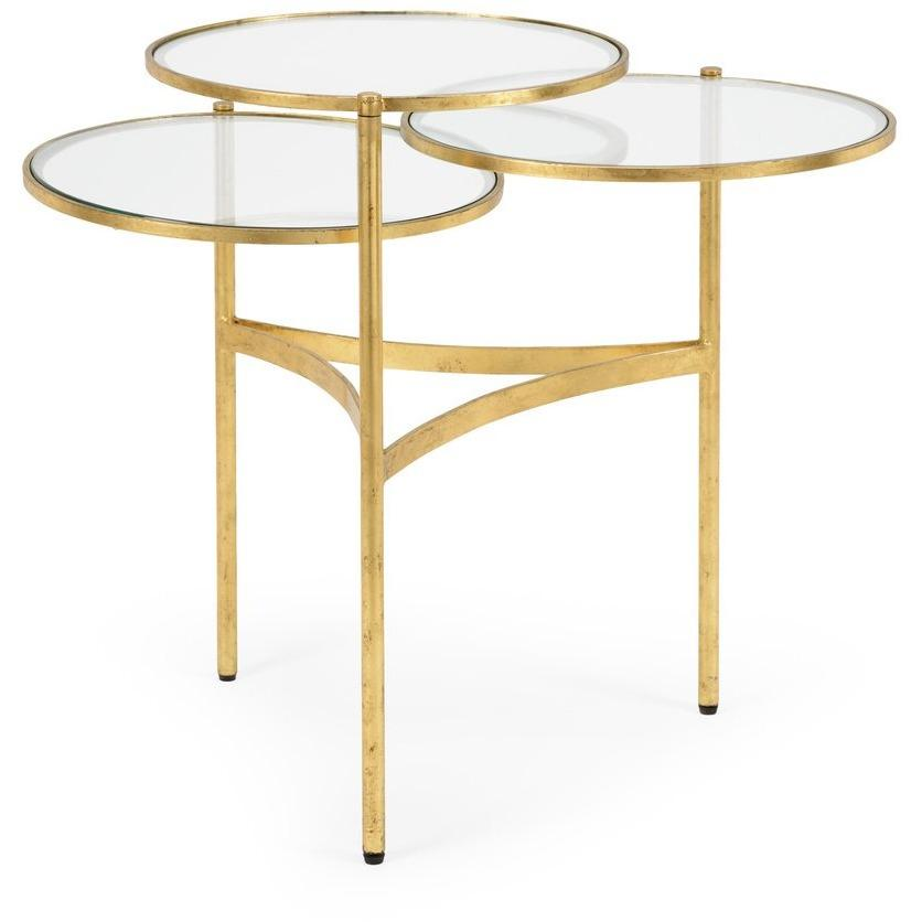 Chelsea House Bristol Coffee Table - Gold 381986 - LOVECUP