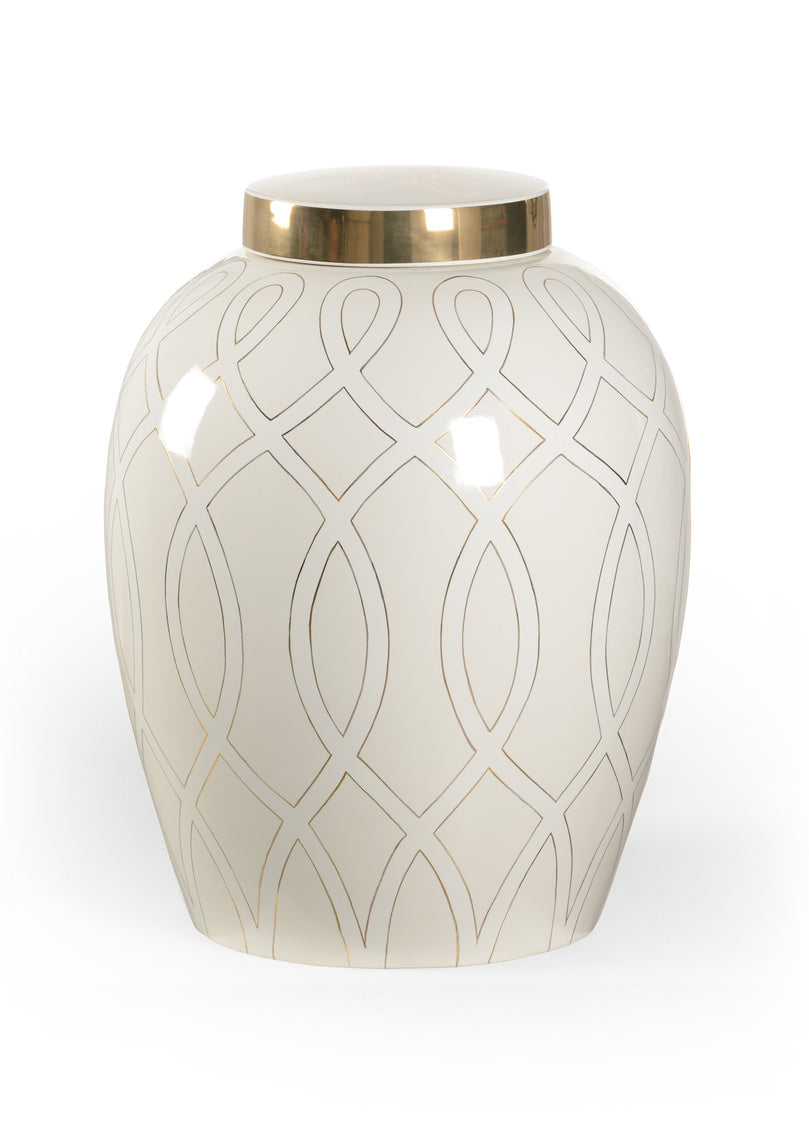 Shayla Copas Designs Sarah Ginger Jar - White 384908