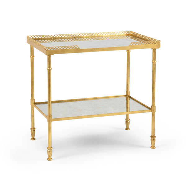 Chelsea House Foster Side Table- Gold 381990
