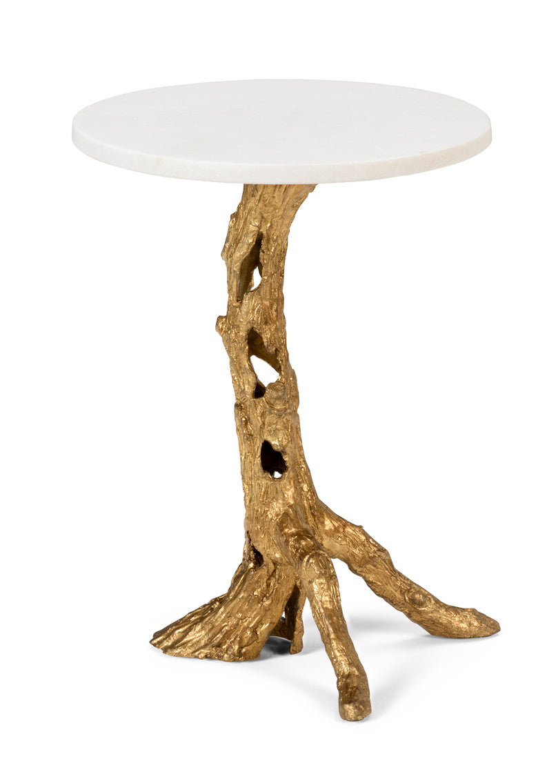 Wildwood Woody Side Table - Gold 490061