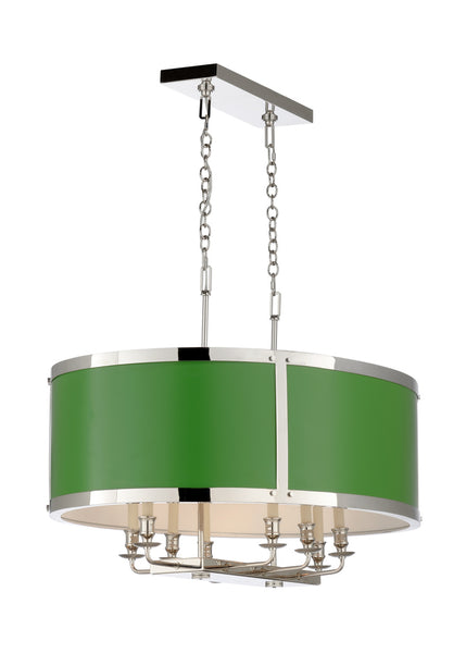 Matthew Frederick High Street Chandelier Green 65734C