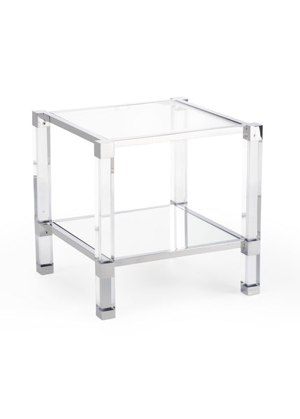 Chelsea House Vancouver Acrylic Side Table 384474