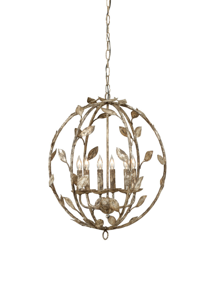 Chelsea House Botanical Leaf Chandelier 68471
