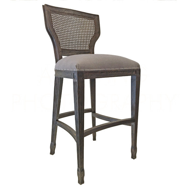 Aidan Gray Lisa Marie BAR Stool Burnt Oak CH478 BOCM-CB