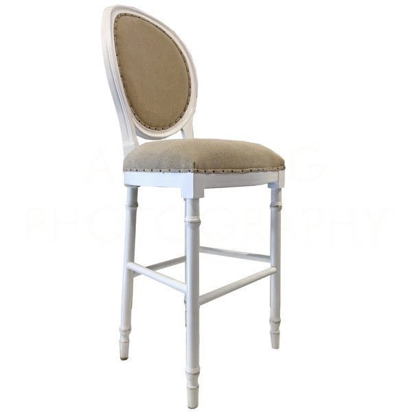 Aidan Gray Grace Grace BAR Stool White CH479 WWTL