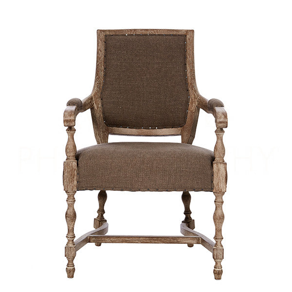 Aidan Gray Brent Arm Dining Chair CH563