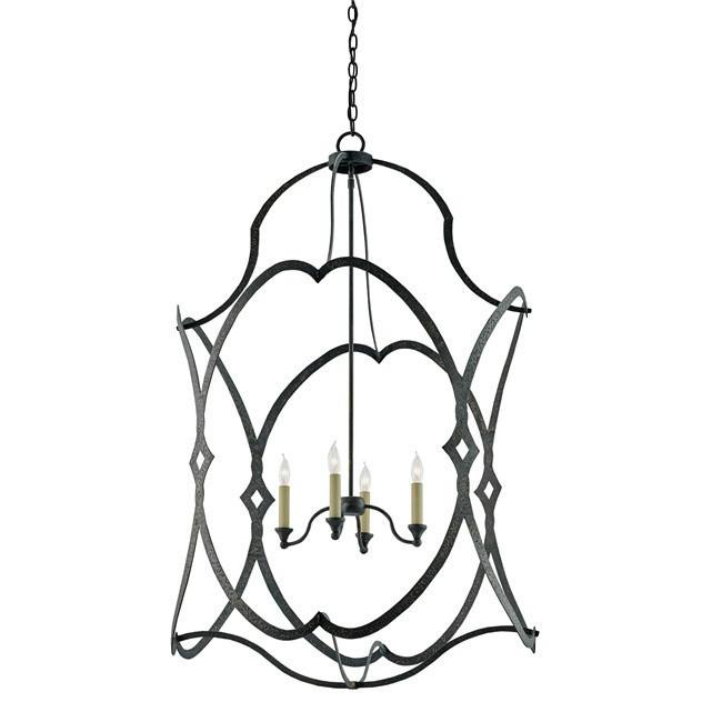 Currey and Company Charisma Lantern Large 9000-0025 - LOVECUP